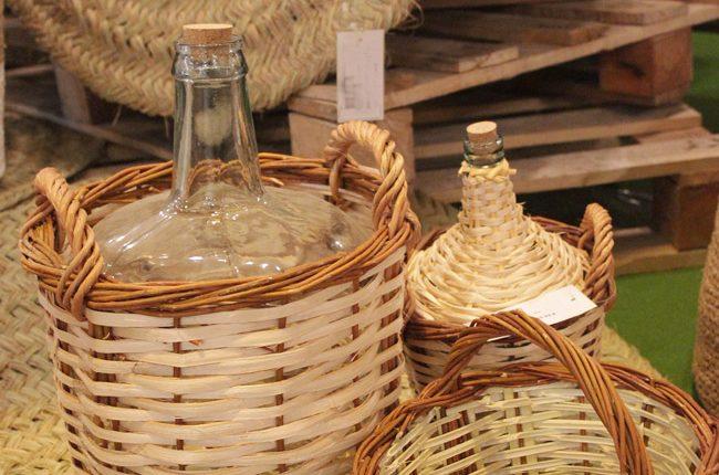 Cestas y revestimientos de garrafas de Con-Fer.