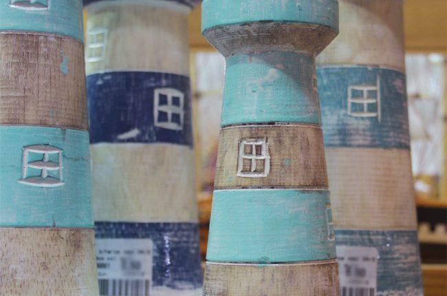 Faros decorativos de Linares