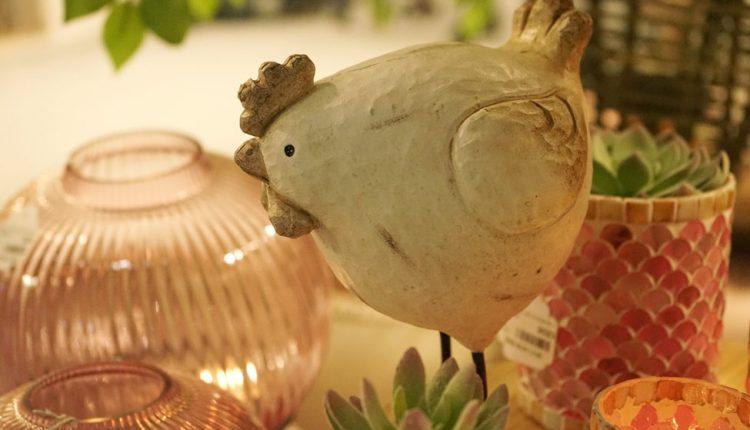 J-Line gallina decoracion